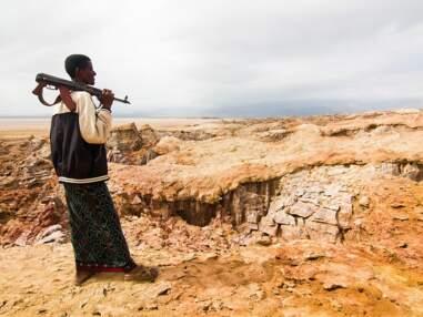 Ethiopie, dans la dépression de l'Afar