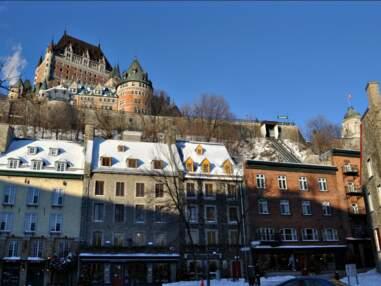 Canada: balade hivernale à Québec