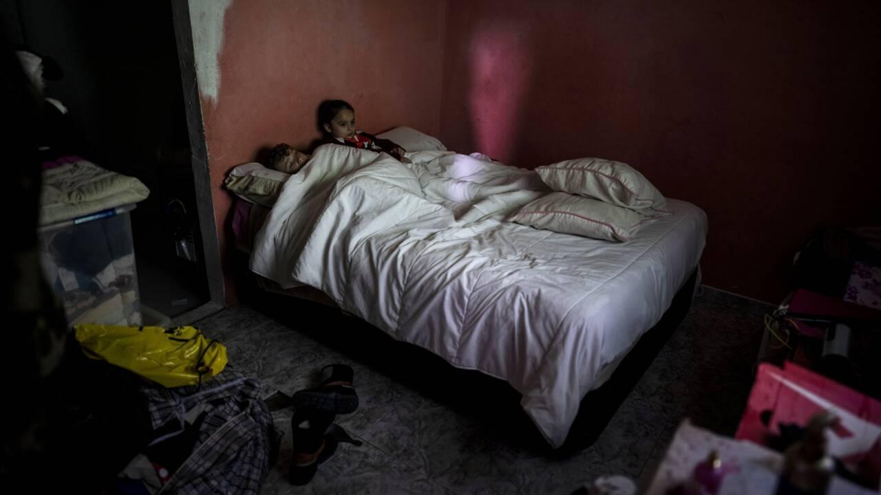 A Madrid, un bidonville sans électricité en pleine vague de froid