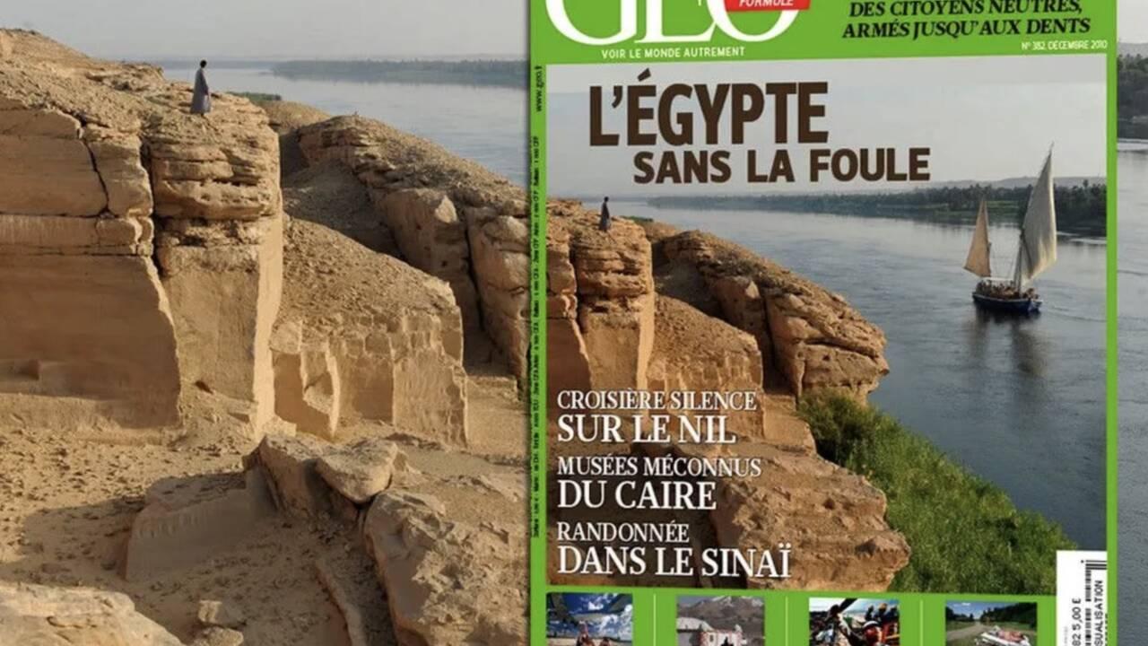 Notre hommage à Patrick Chapuis, fidèle photographe de GEO et grand amoureux de l'Egypte