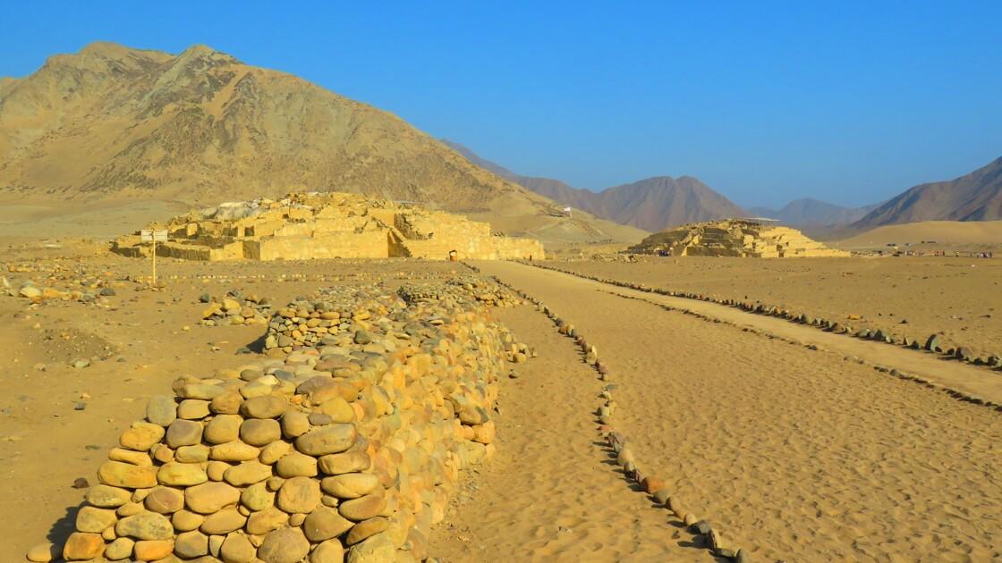 Au Pérou, la cité archéologique de Caral menacée par des constructions illégales