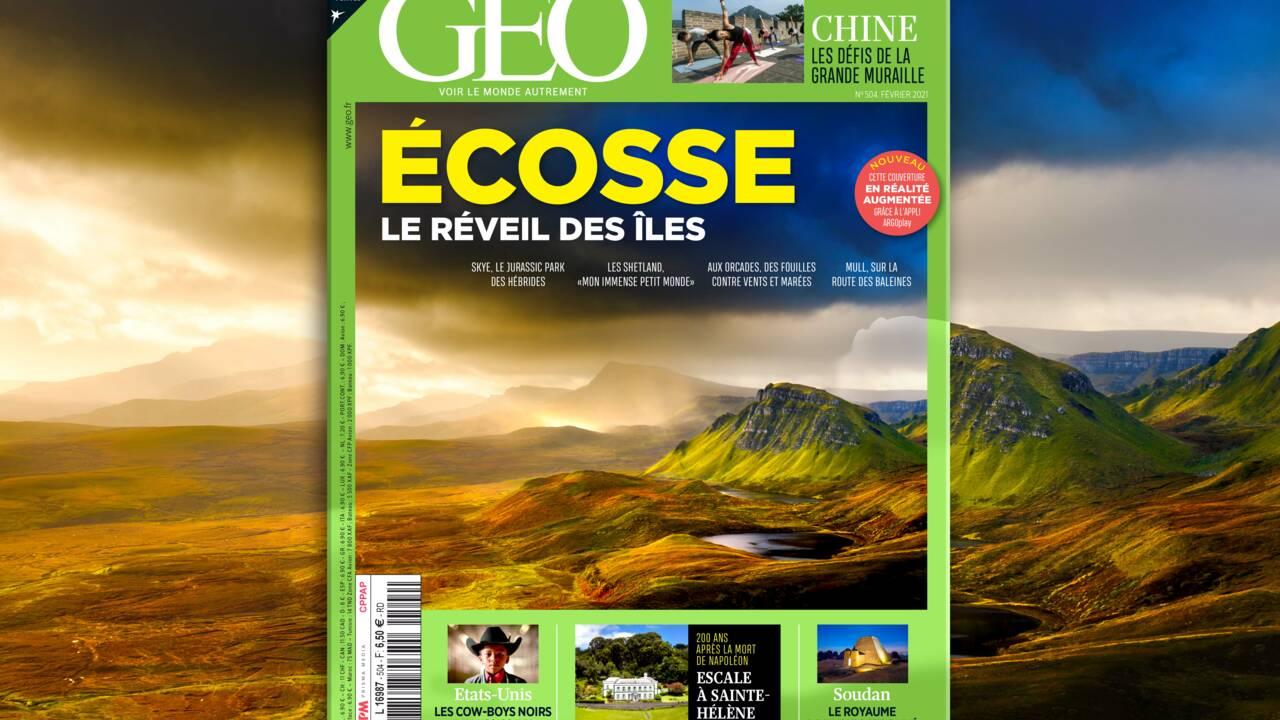 Shetland, Skye, Orcades... Les îles d'Ecosse au sommaire du nouveau numéro de GEO