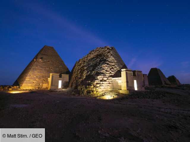 Soudan : à la recherche du royaume perdu des pharaons ...