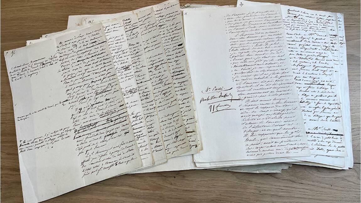Napoléon: il est encore temps d'acquérir le manuscrit sur Austerlitz