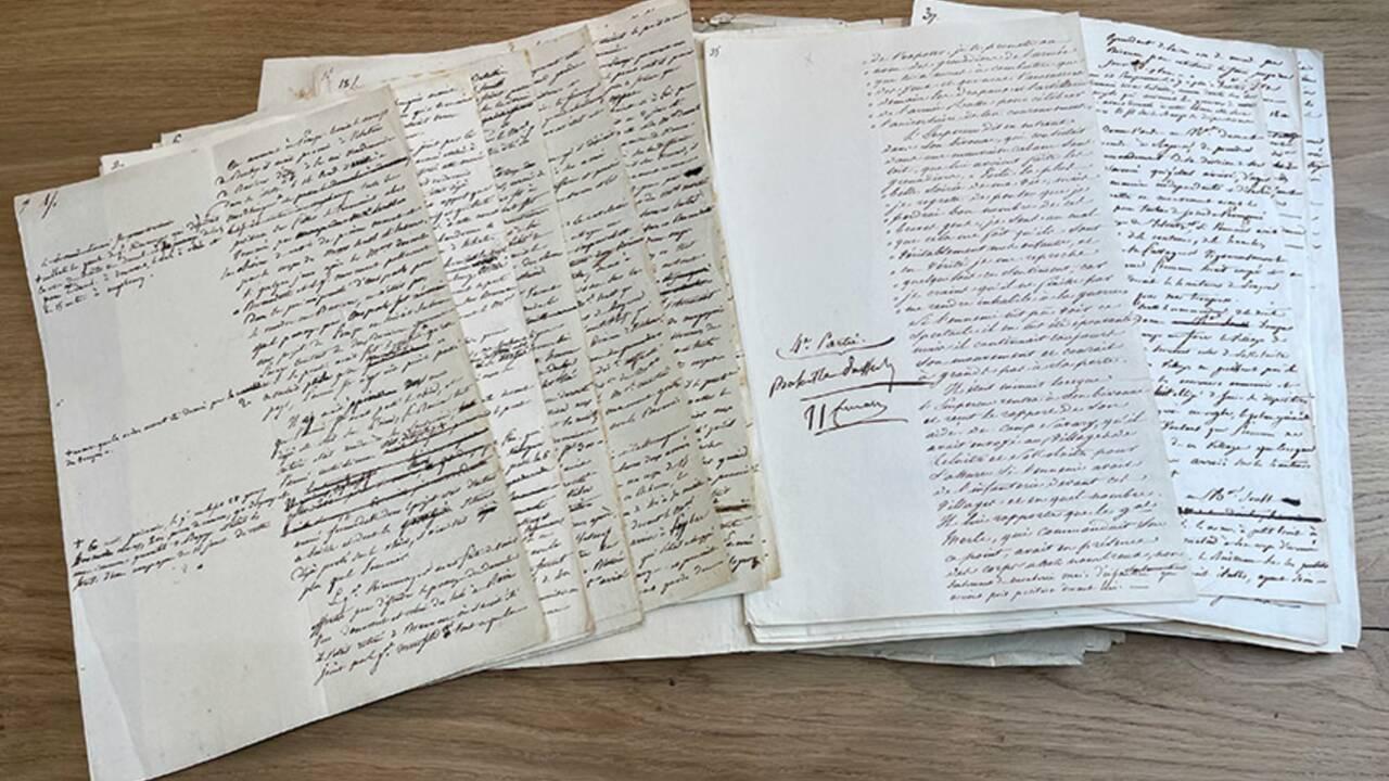 Un manuscrit unique racontant la bataille d'Austerlitz annoté par Napoléon mis en vente à 1 million d'euros