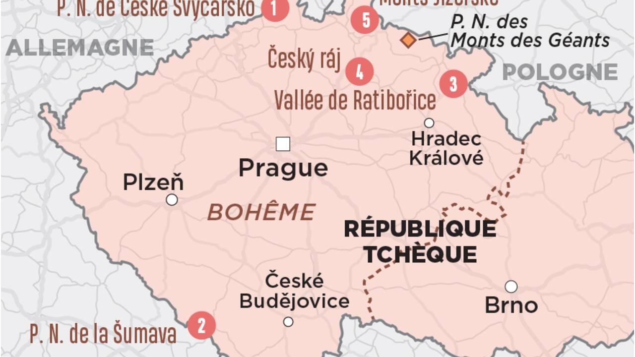 République tchèque : la Bohême en cinq édens naturels