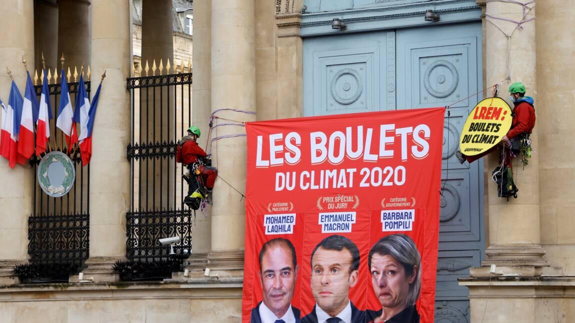 "Barabara Pompili élue ""boulet du climat"" par Greenpeace"