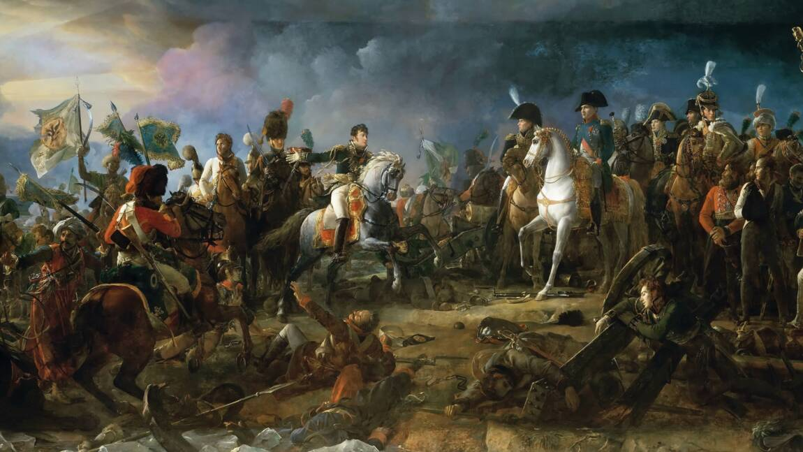La bataille d'Austerlitz, chef-d'œuvre tactique de Napoléon