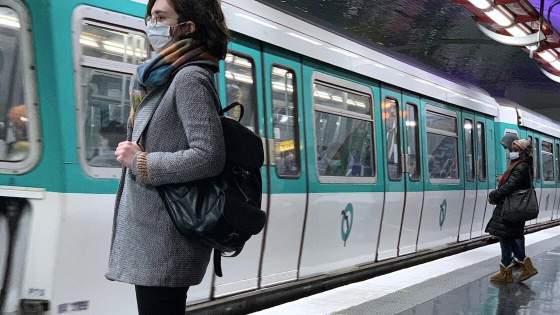 """L'association Respire alerte sur la pollution de l'air """"préoccupante"""" dans le métro parisien"""