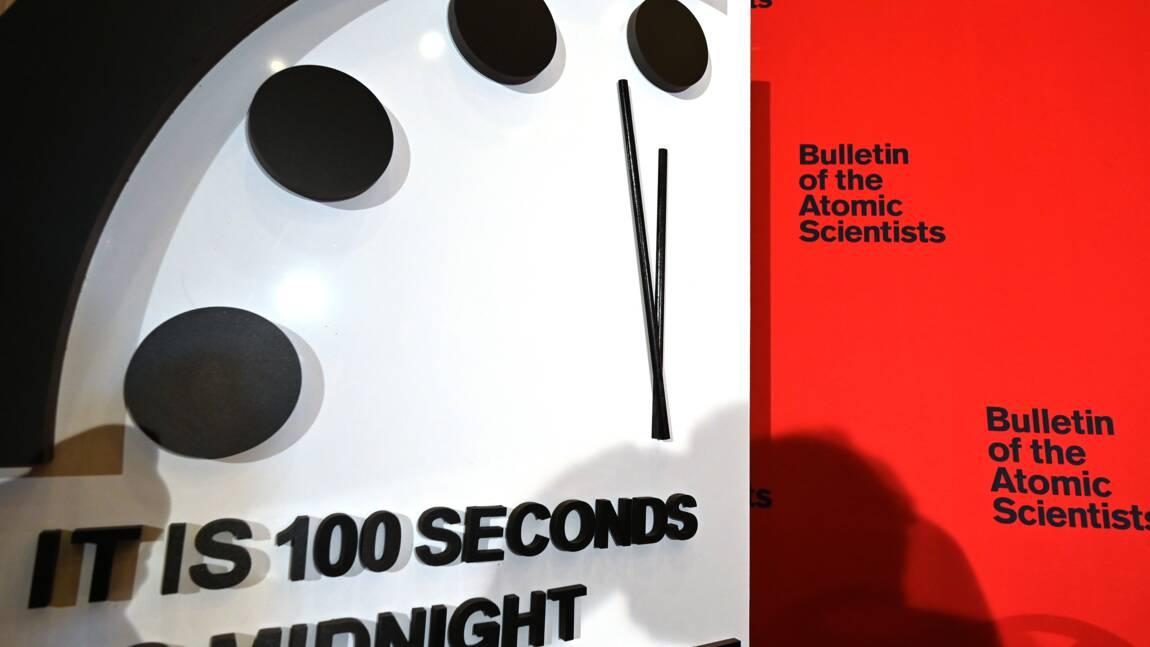 Urgence climatique, pandémie... L'horloge de l'apocalypse reste toujours aussi proche de minuit