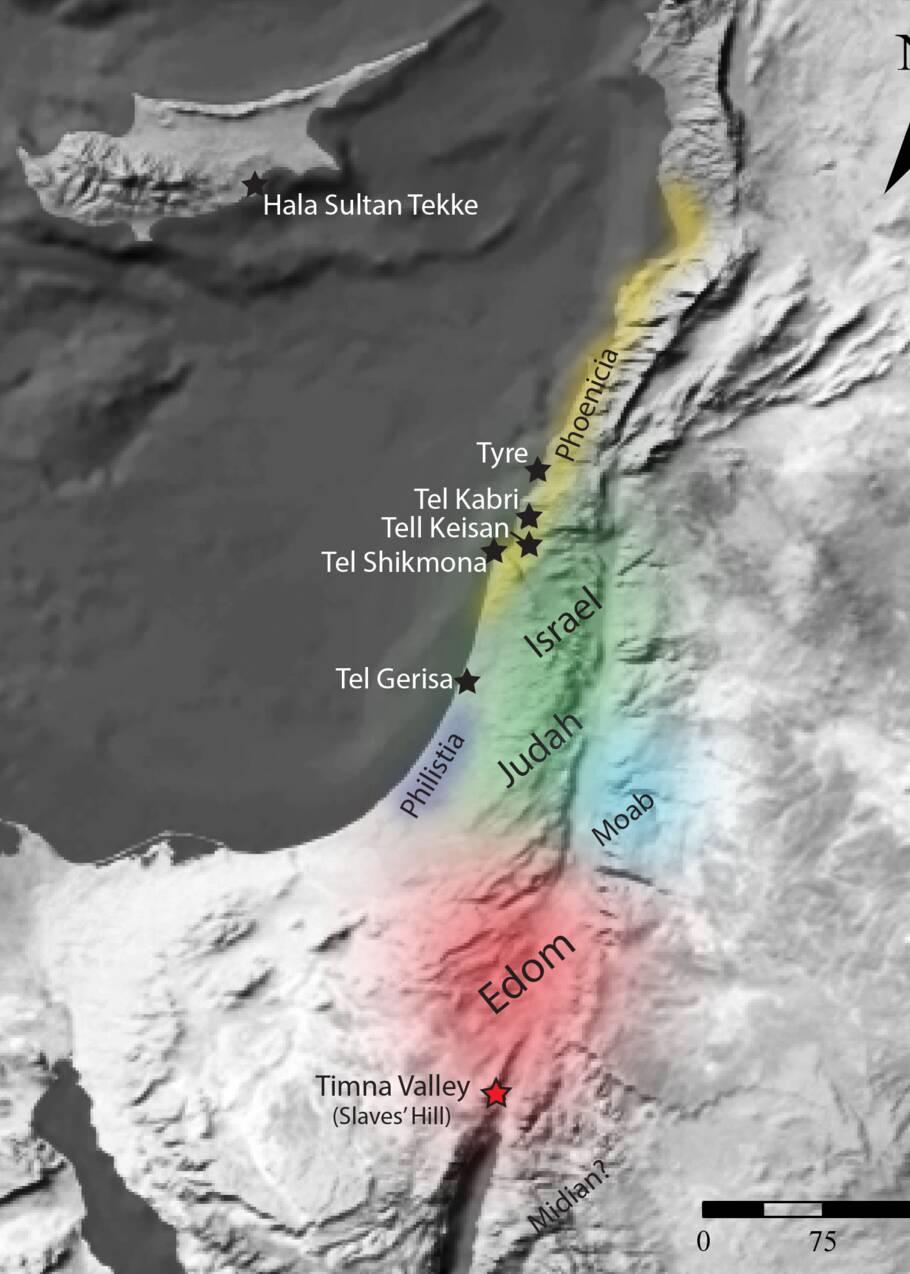 """Israël : des étoffes teintes en """"violet royal"""", vieilles de 3000 ans, découvertes pour la première fois"""