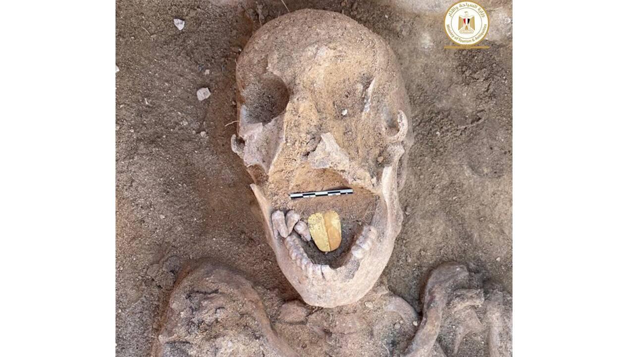 Egypte : des momies avec une langue en or découvertes près d'Alexandrie
