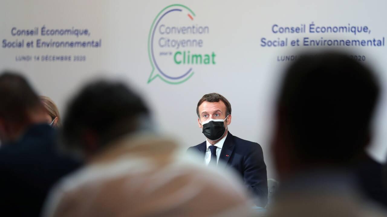 Loi climat : le difficile pari vert de Macron