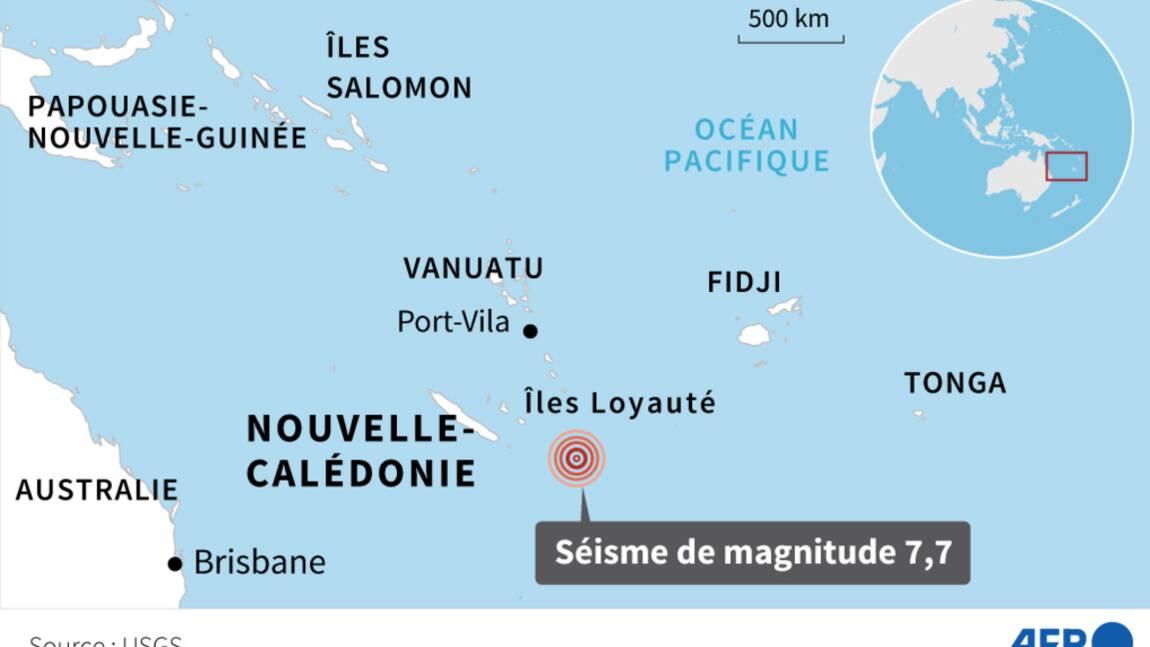 Séisme dans le Pacifique: fin de l'alerte au tsunami