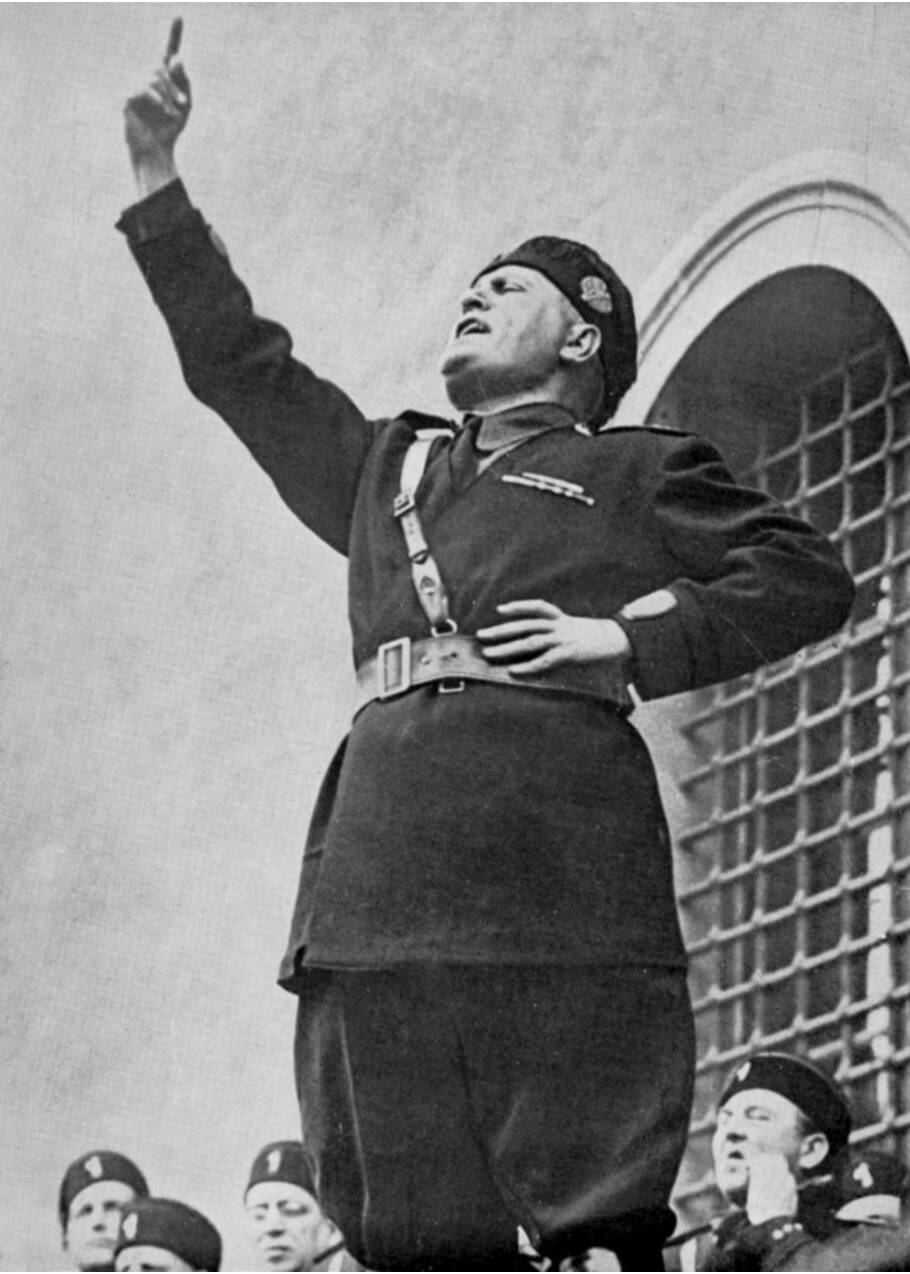 Mussolini, l'inventeur du fascisme