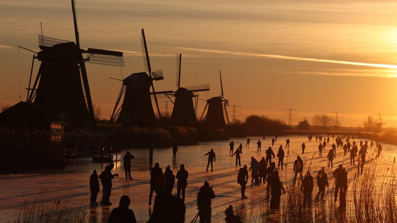 Les Pays-Bas pris d'assaut par la fièvre du patin à glace