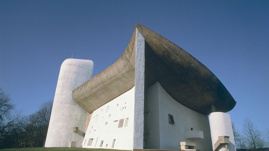 La chapelle de Ronchamp dessinée par Le Corbusier va être restaurée