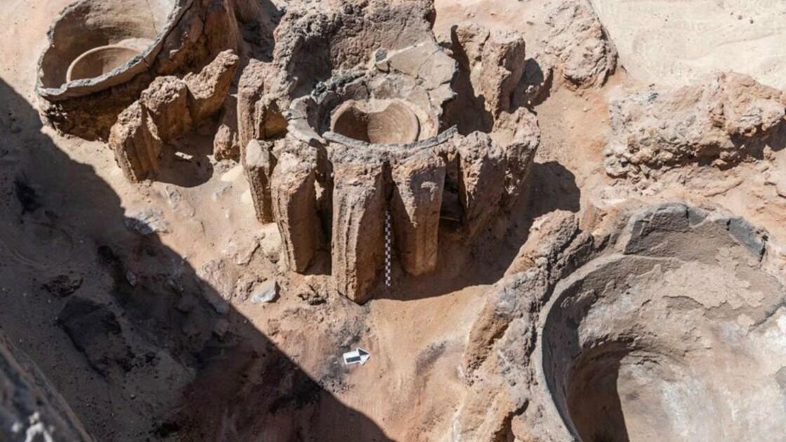 """Les vestiges de """"la plus vieille brasserie du monde""""  dévoilés en Egypte"""