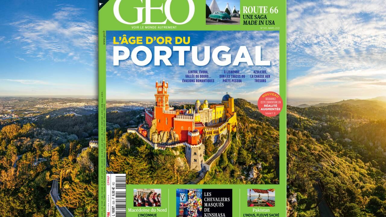 L'âge d'or du Portugal au sommaire du nouveau numéro de GEO
