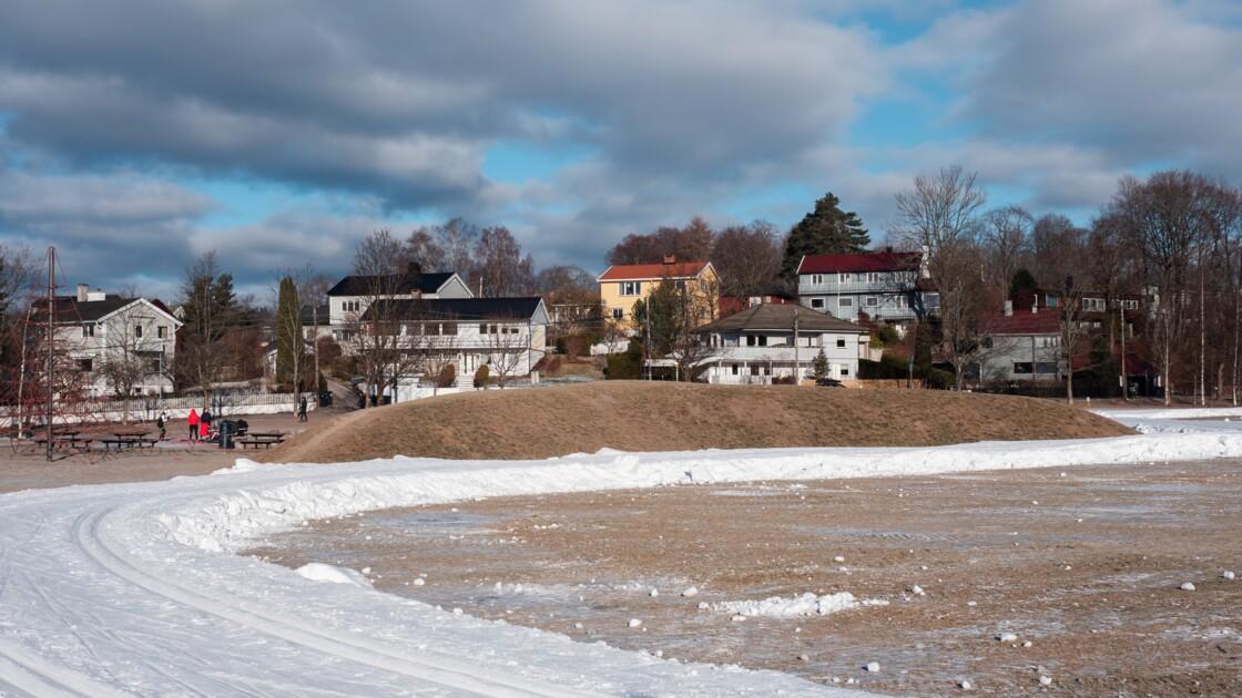 En Norvège, on déplace des montagnes au cœur de la ville pour skier