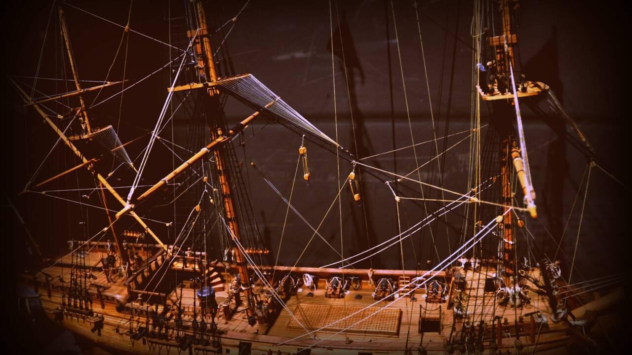 Six squelettes découverts dans l'épave d'un bateau pirate disparu il y a 300 ans