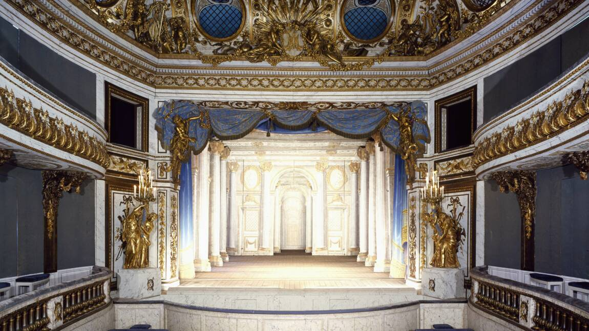 """A Versailles, le discret théâtre de Marie-Antoinette, """"miracle de conservation"""", se refait une beauté"""