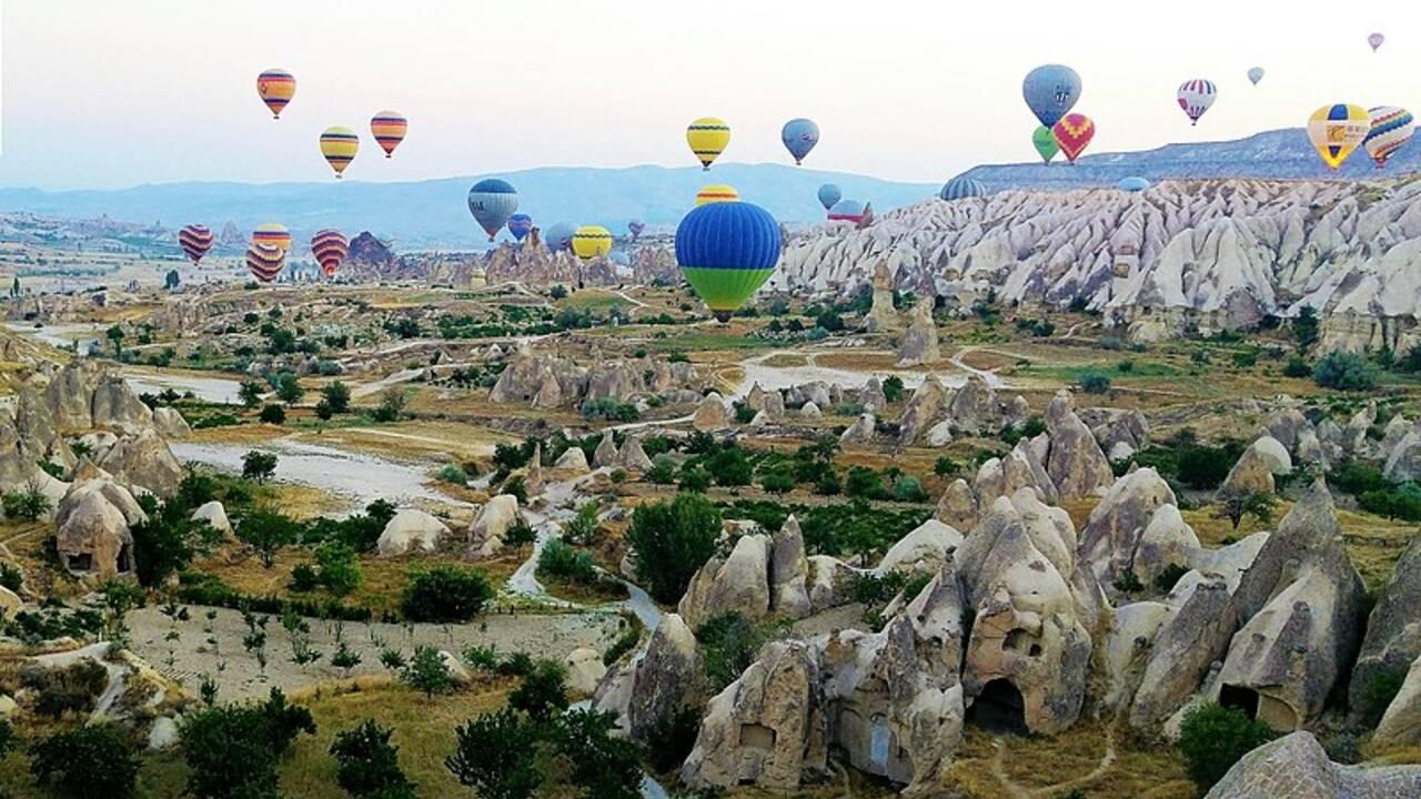 Quels sont les plus beaux endroits de Cappadoce ?