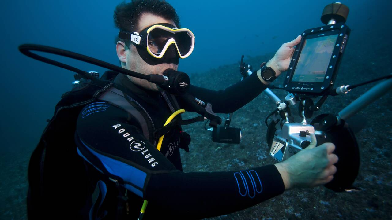 Une mission de 10 ans pour le photographe Alexis Rosenfeld qui va documenter l'état des océans