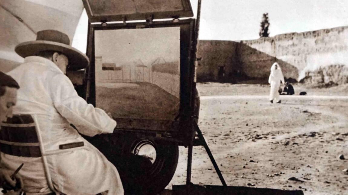 Quand Winston Churchill s'imprégnait de la lumière de Marrakech pour peindre