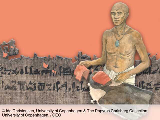 Un papyrus égyptien de 3 500 ans révèle de nouveaux détails sur les procédés de la momification - GEO