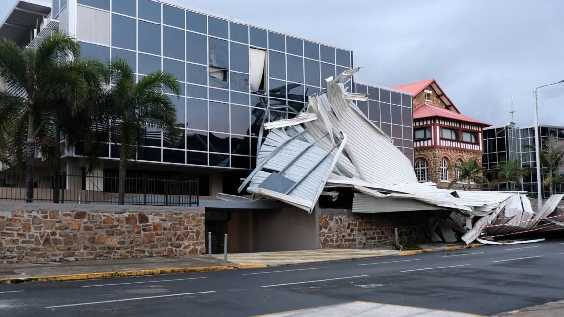 Cyclone en Nouvelle-Calédonie: dégâts matériels et un blessé