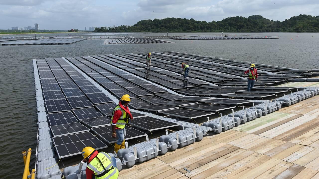 Singapour : des milliers de panneaux solaires sur l'eau faute d'espace
