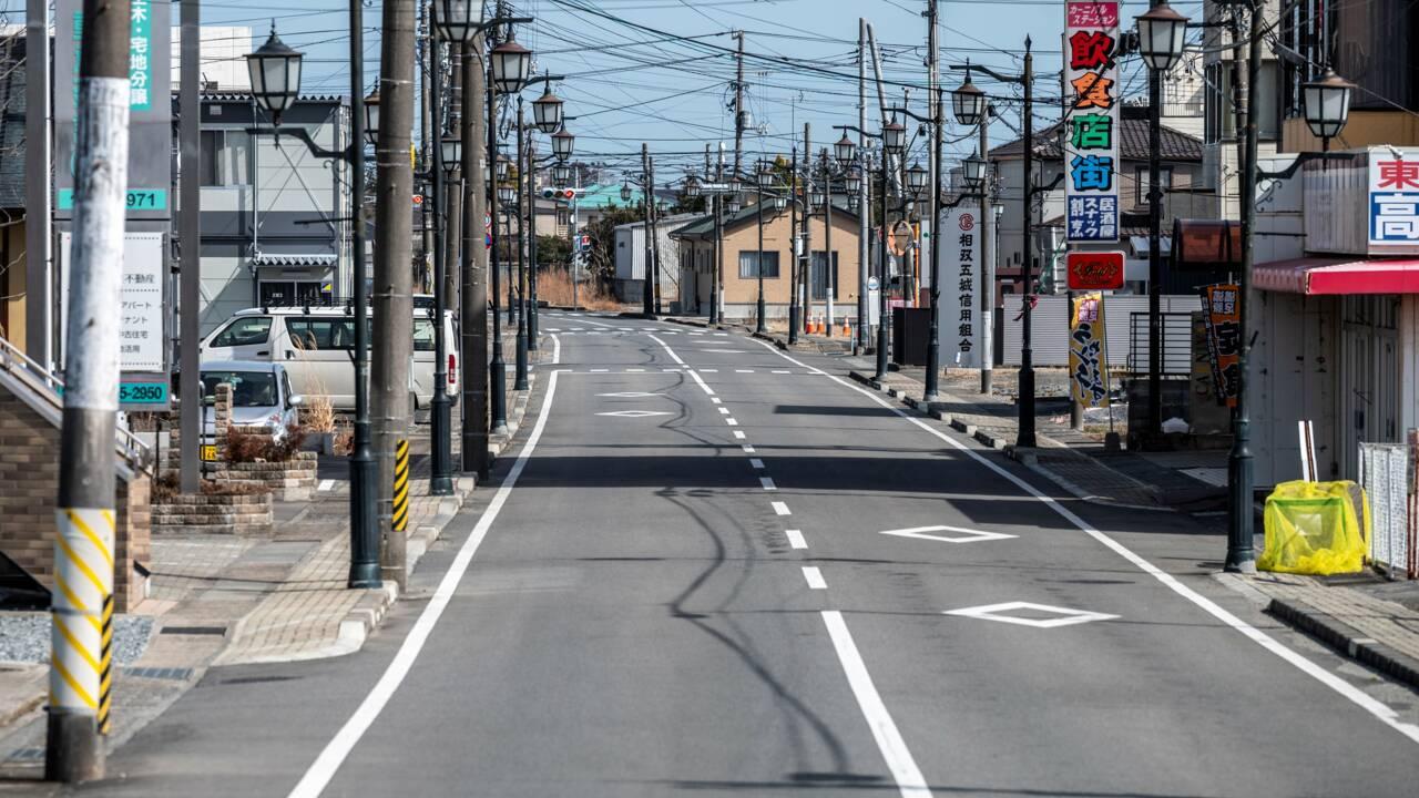A Fukushima, la difficile renaissance d'anciennes villes fantômes