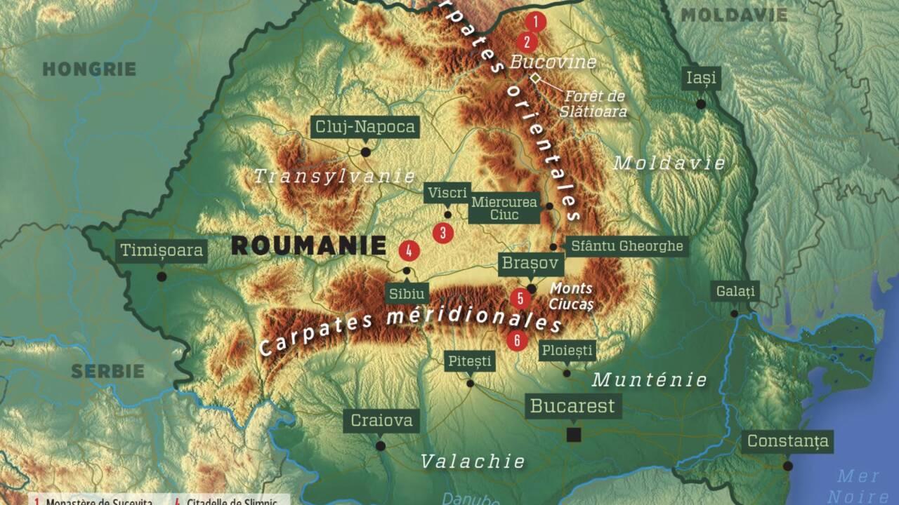 Roumanie : à la recherche du trésor des Carpates