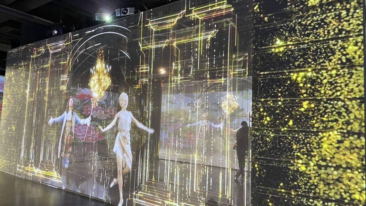 Le château de Versailles se visite en 3 dimensions dans un centre commercial de Shanghaï