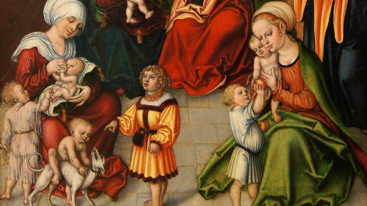Une ceinture d'accouchement servant à protéger la mère et son enfant ressurgit du Moyen-Age