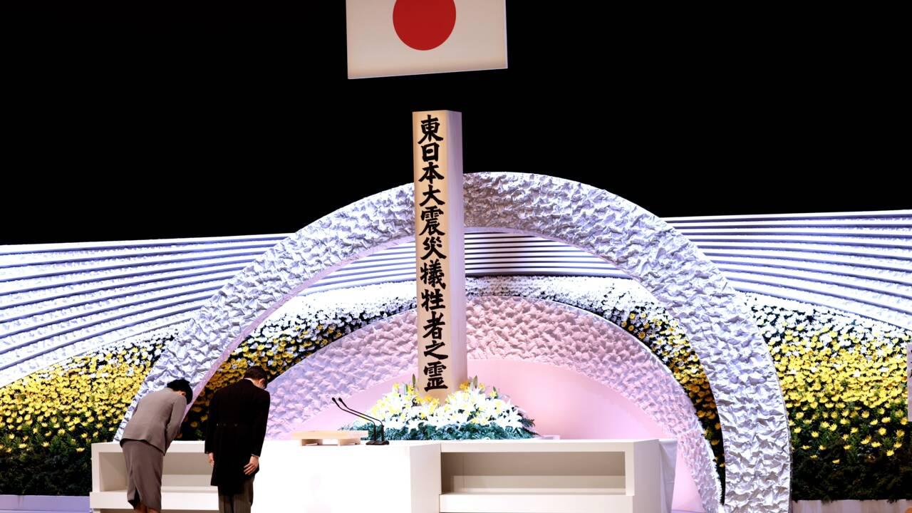 Le Japon se fige pour les dix ans de la triple catastrophe de 2011
