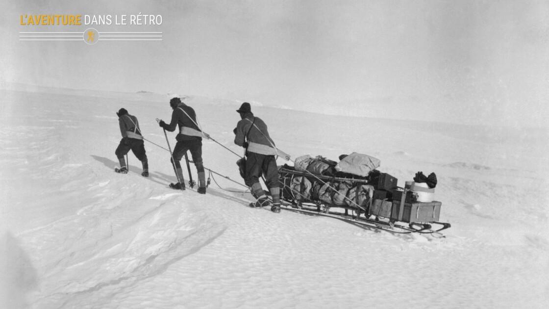 Retour sur le feuilleton tragique de la course au pôle Sud entre Roald Amundsen et Robert Falcon Scott