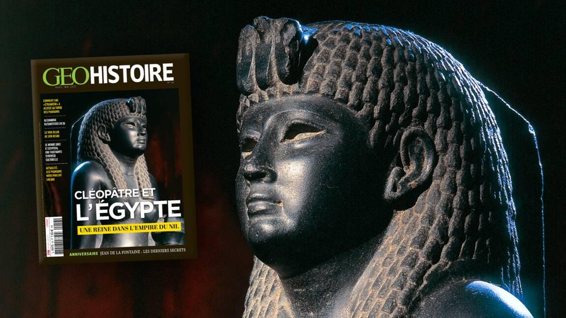 La reine Cléopâtre au sommaire du nouveau numéro de GEO Histoire