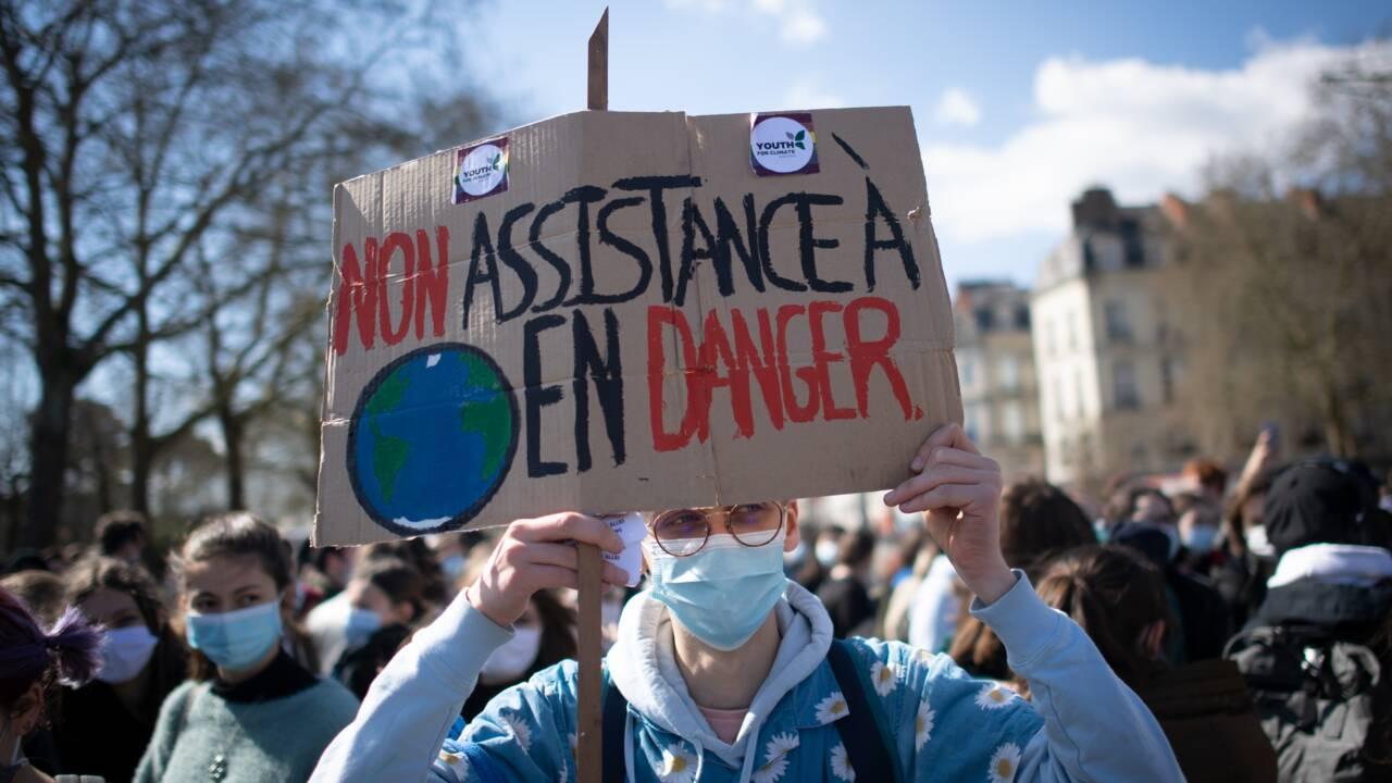 Jeunes pour le climat : nouveau vendredi de manifestations à travers la France