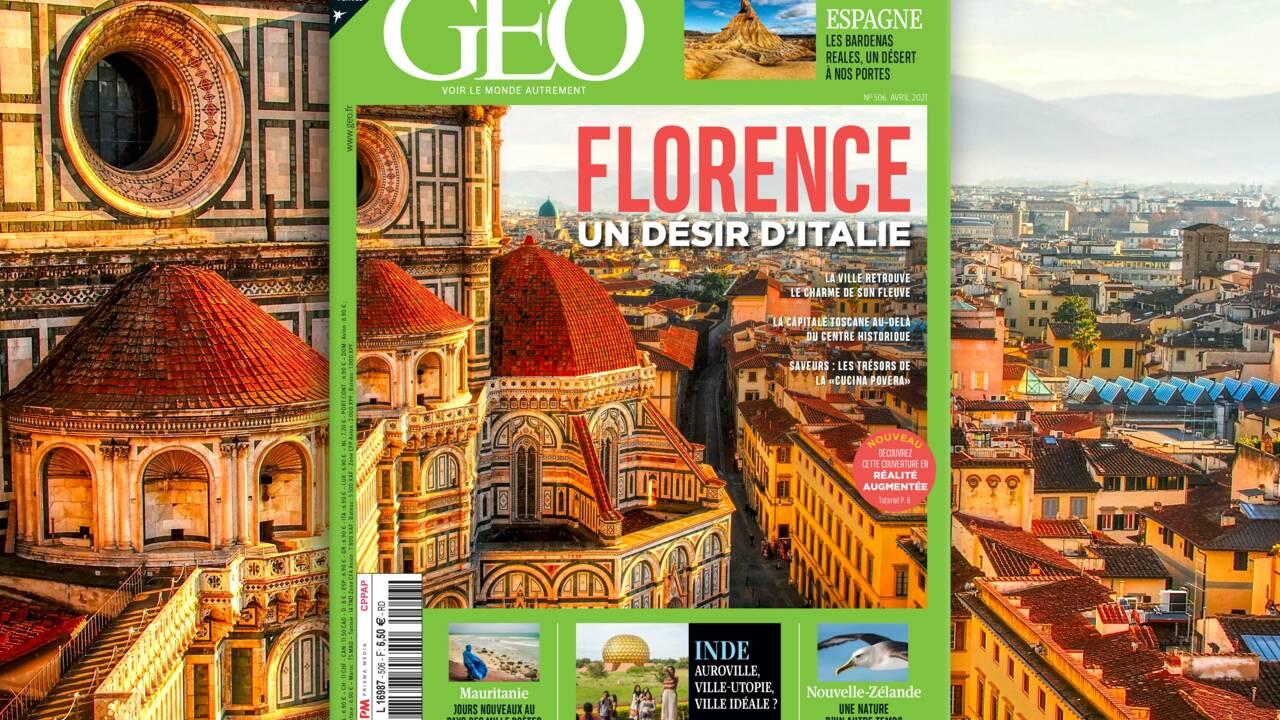 Envie d'Italie ? Florence au sommaire du nouveau numéro de GEO