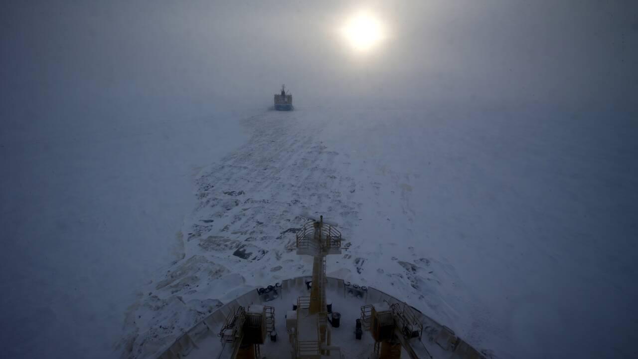 Record de chaleur et banquise à son plus bas en 2020 en Russie