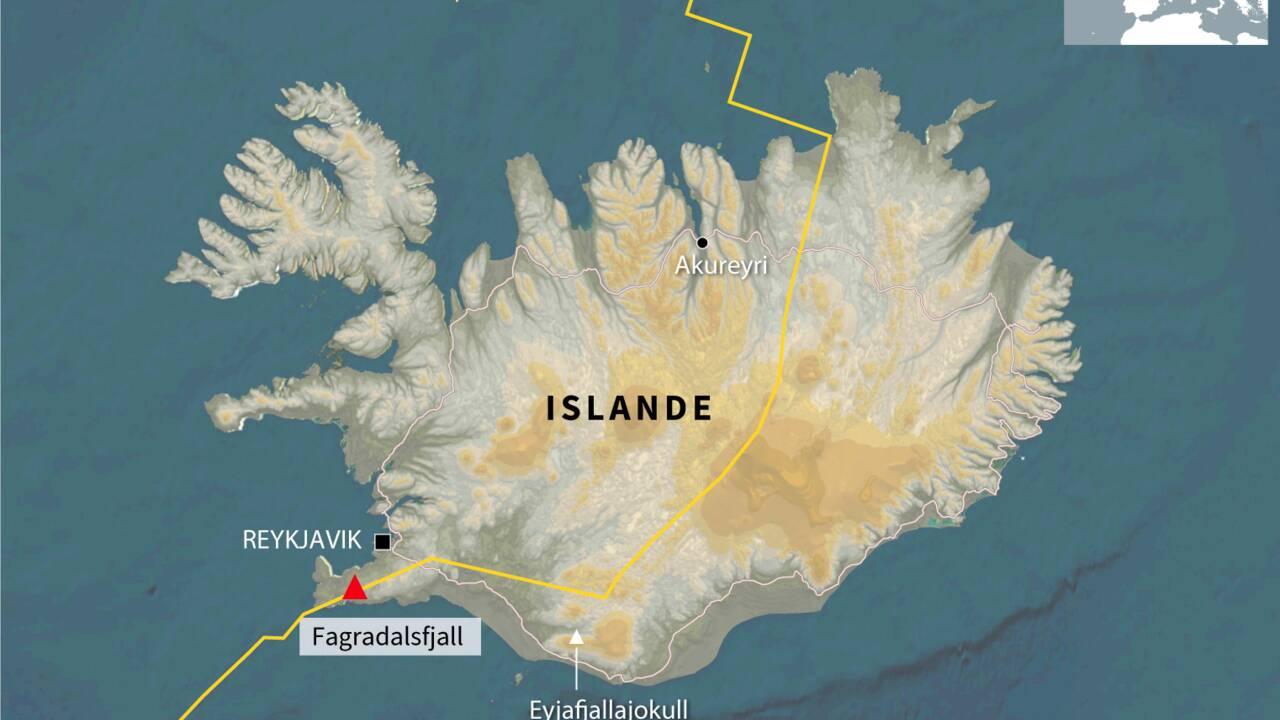 Islande : non, le volcan Fagradalsfjall n'est pas entré en éruption