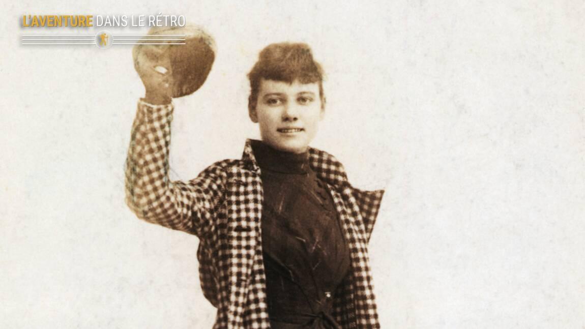 Plus rapide que Jules Verne, quand l'intrépide journaliste Nellie Bly bouclait un tour du monde en 72 jours
