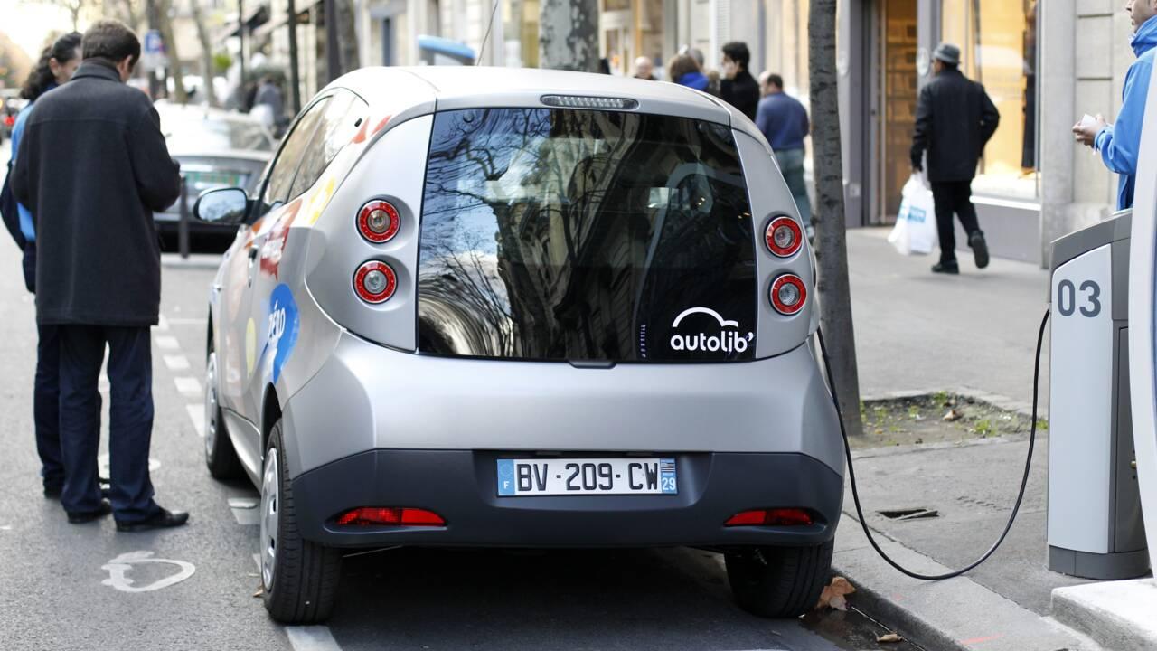 """A Paris,  électricité """"100% renouvelable"""" pour les anciennes bornes Autolib'"""