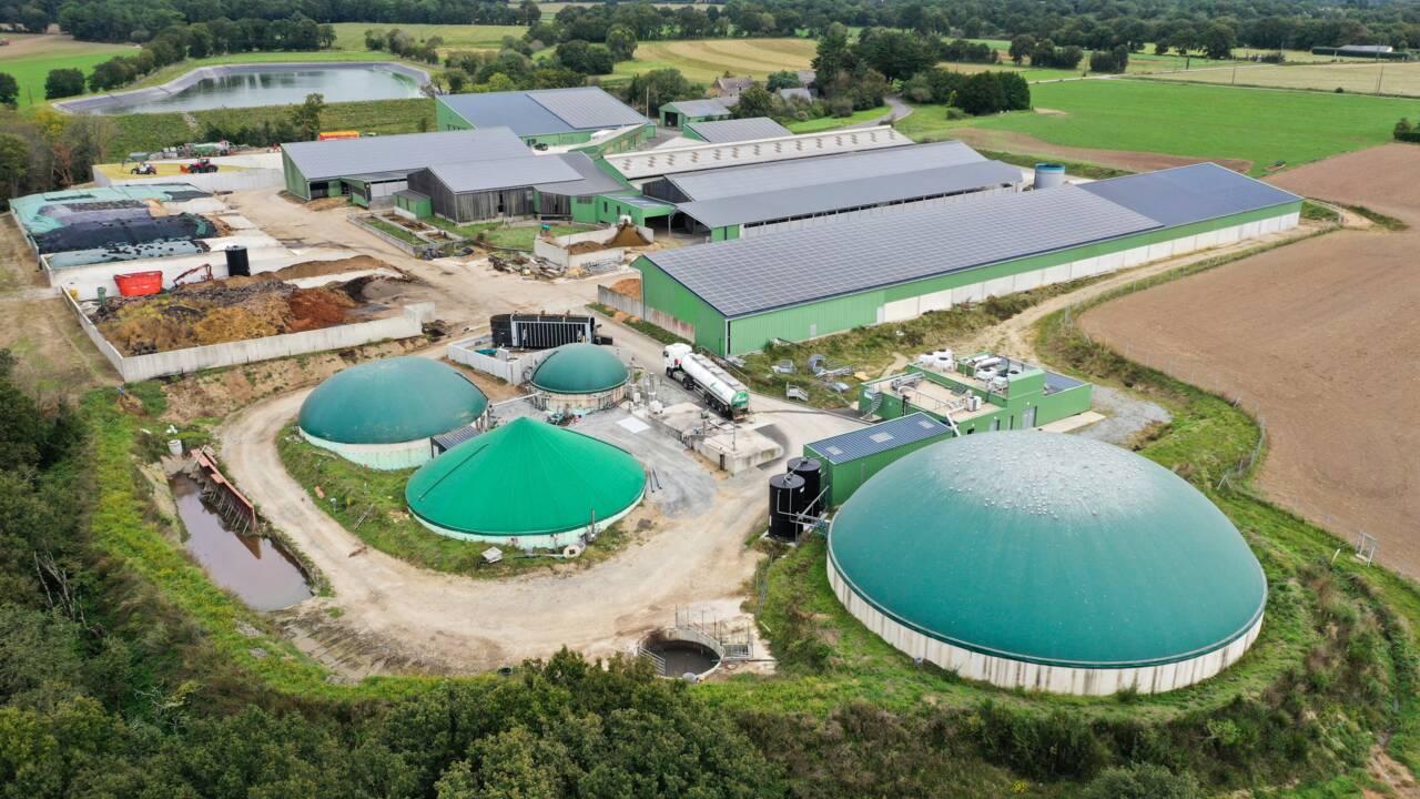 """Dans le Loiret, du gaz vert et un projet """"de société"""""""