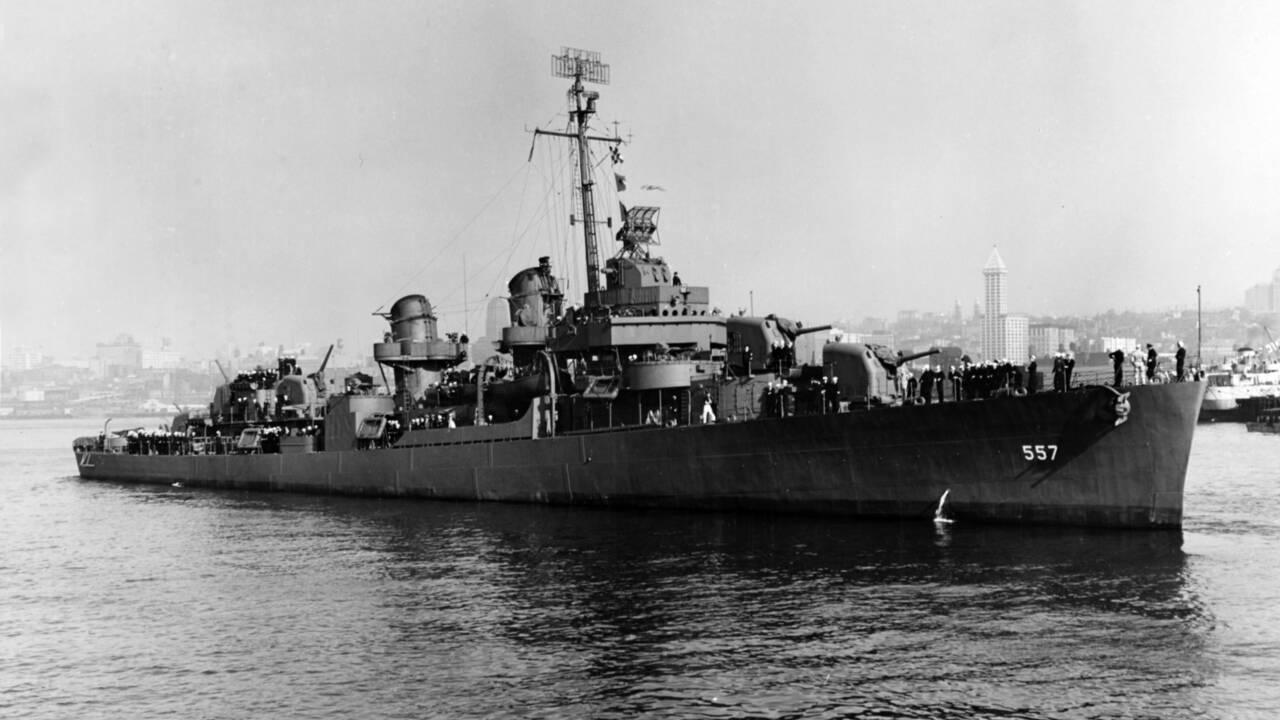 L'épave trouvée aux Philippines appartient bien à un destroyer américain coulé en 1944