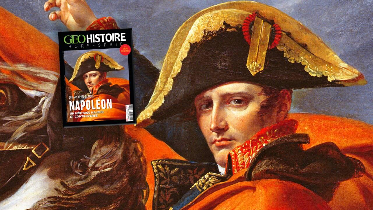 Un héritage majeur et controversé : Napoléon au sommaire du nouveau hors-série GEO Histoire