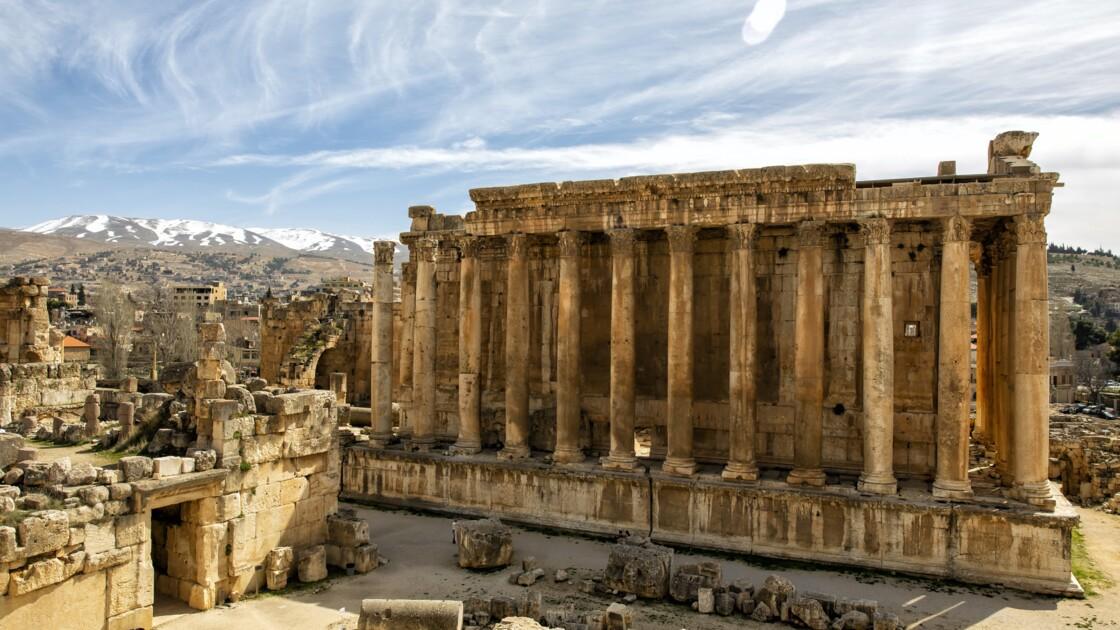 Une visite virtuelle fait renaître les ruines des temples de Baalbek au Liban