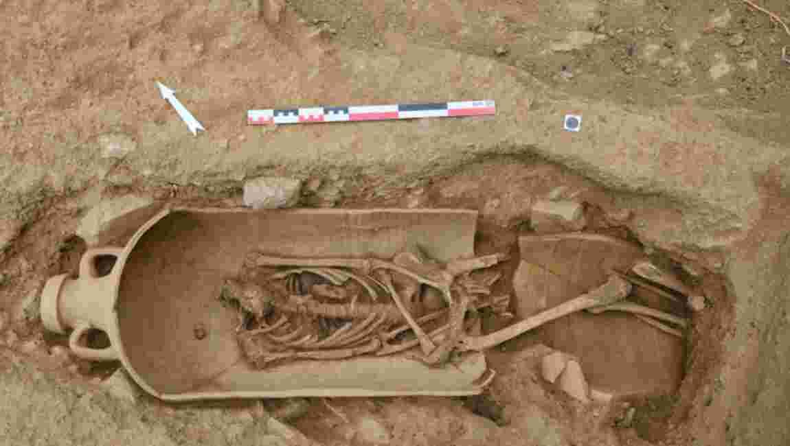 En Corse, découverte d'une nécropole antique avec des corps inhumés dans des amphores